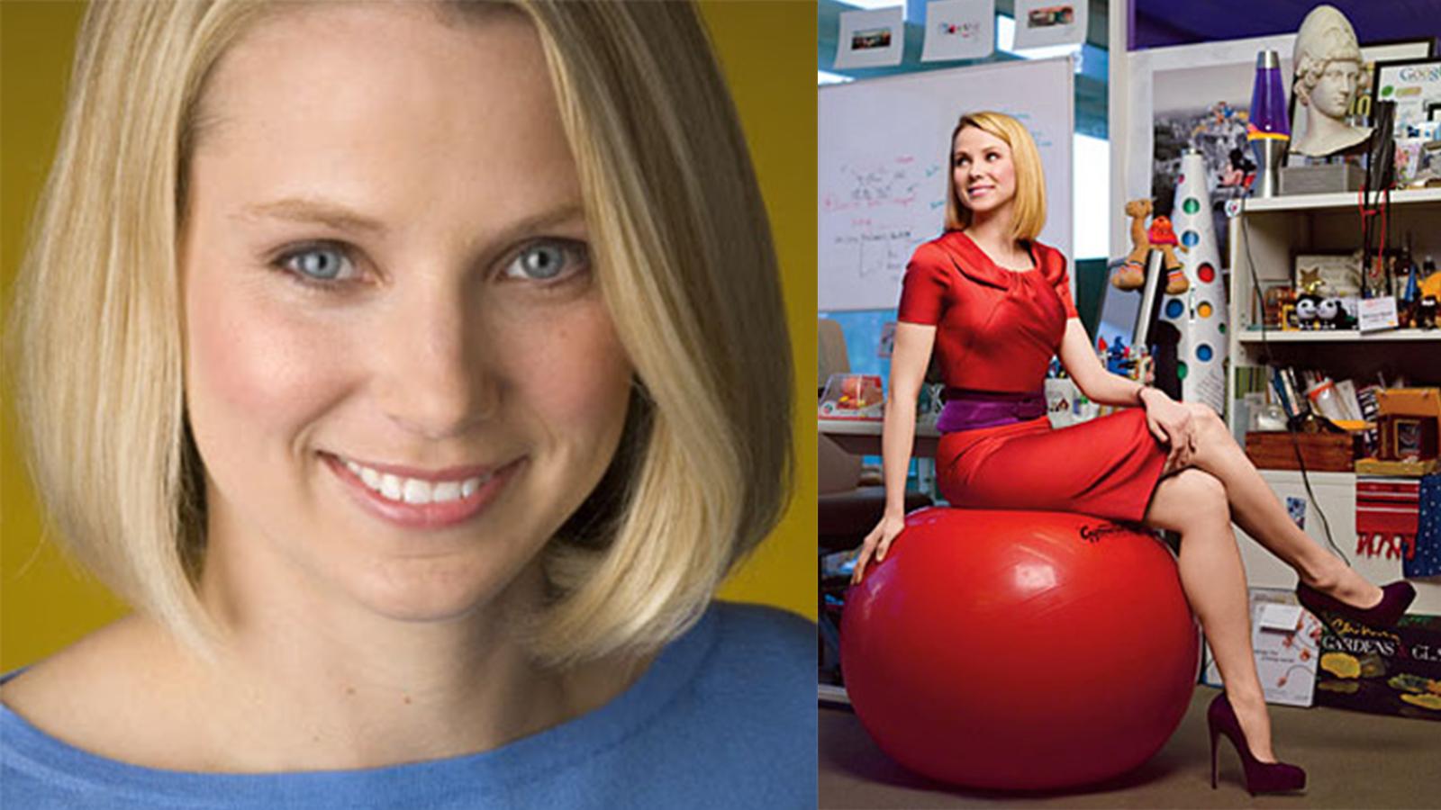 Marissa Mayer, Directora ejecutiva de Yahoo