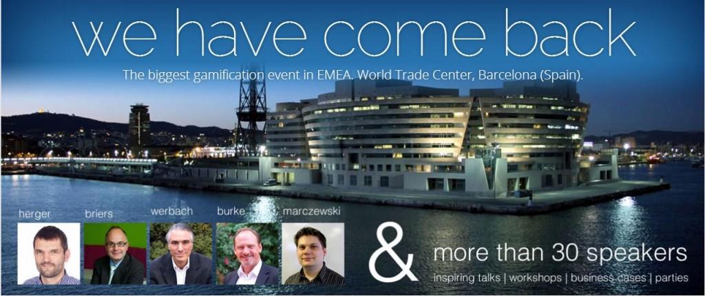 Gamification World Congress en Barcelona