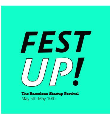 Fest-UP Festival de emprendimiento en Barcelona